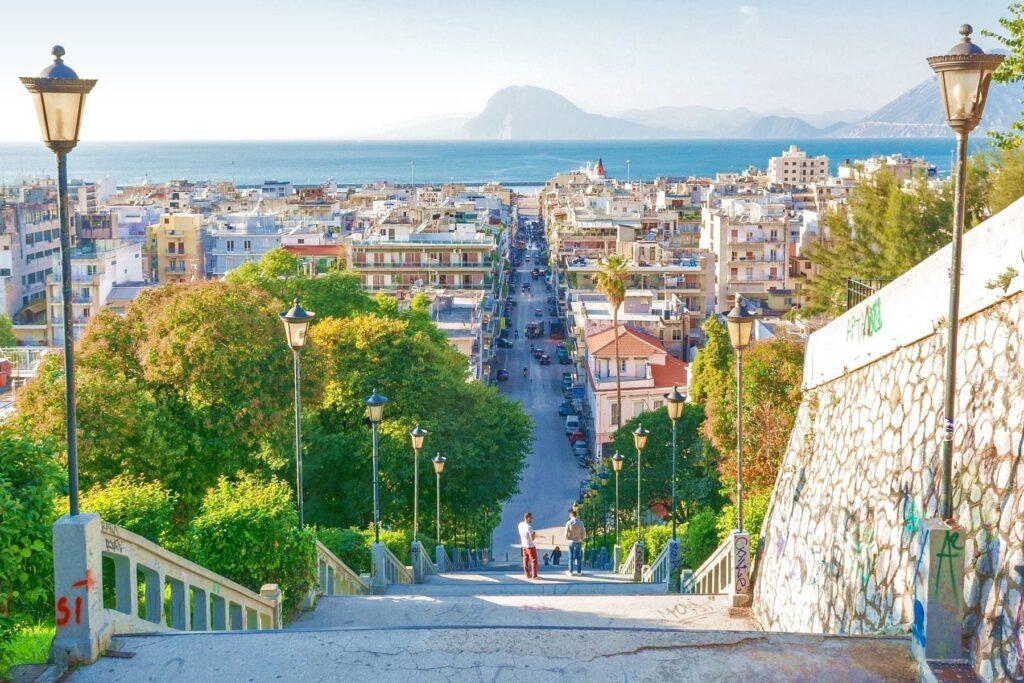 Patras Kalesinden Fotoğraf, Yunanistan