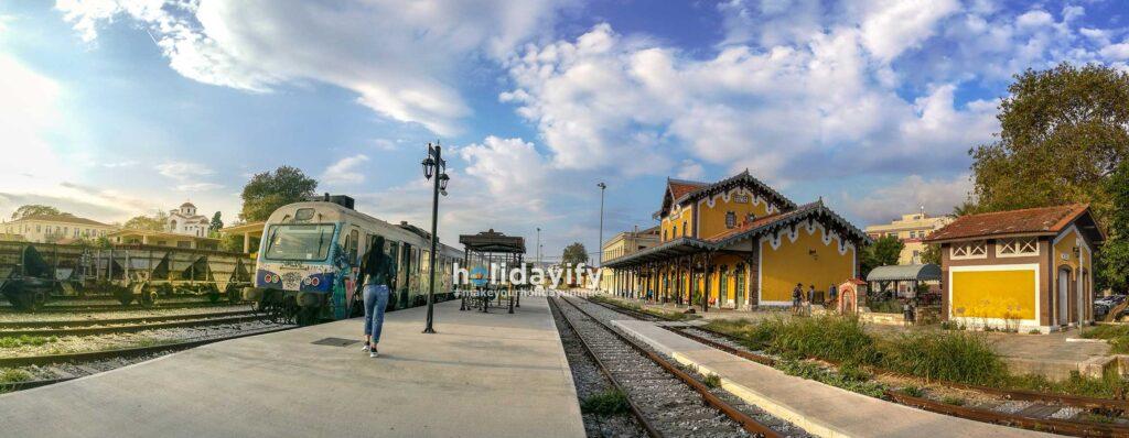 Volos Evaristo de Chirico Tren İstasyonu, Yunanistan