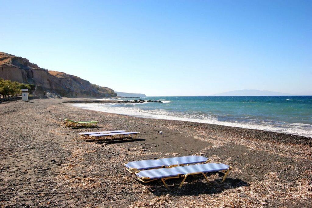 Vourvoulos Plajı, Santorini