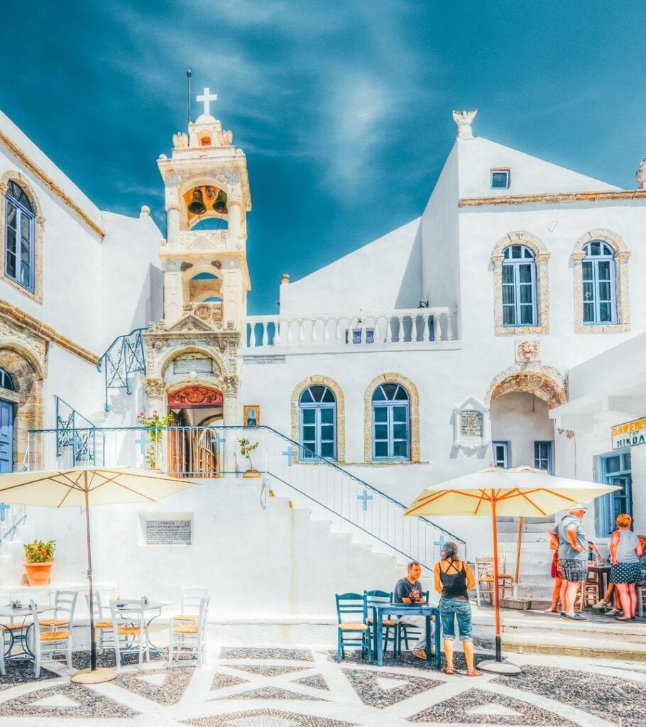 Porta square, Nisyros