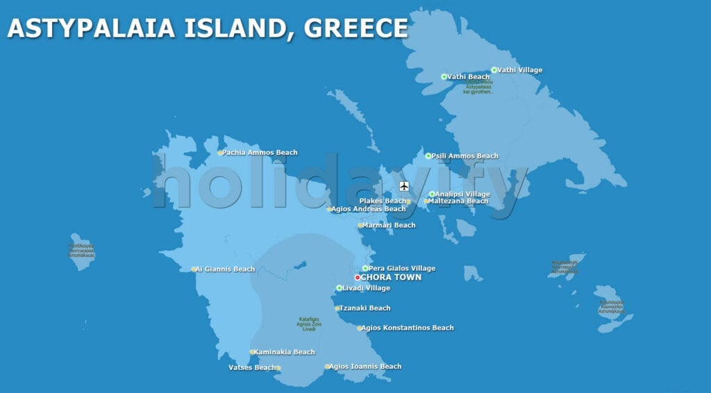 Astypalaia Map