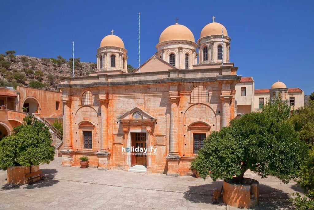 Agia Triada Monastery, Chania, Crete