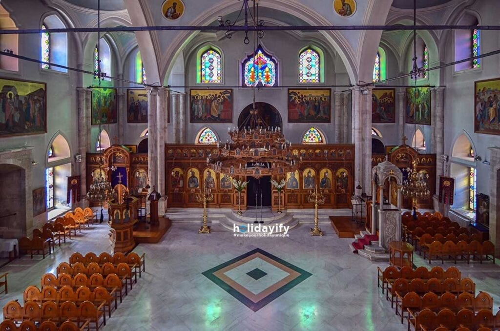 Church of Agios Titos in Heraklion Crete
