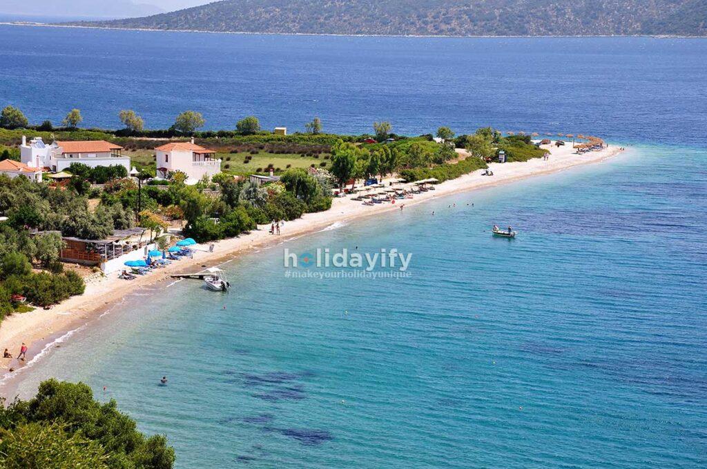Agios Dimitrios Beach, Alonissos Island