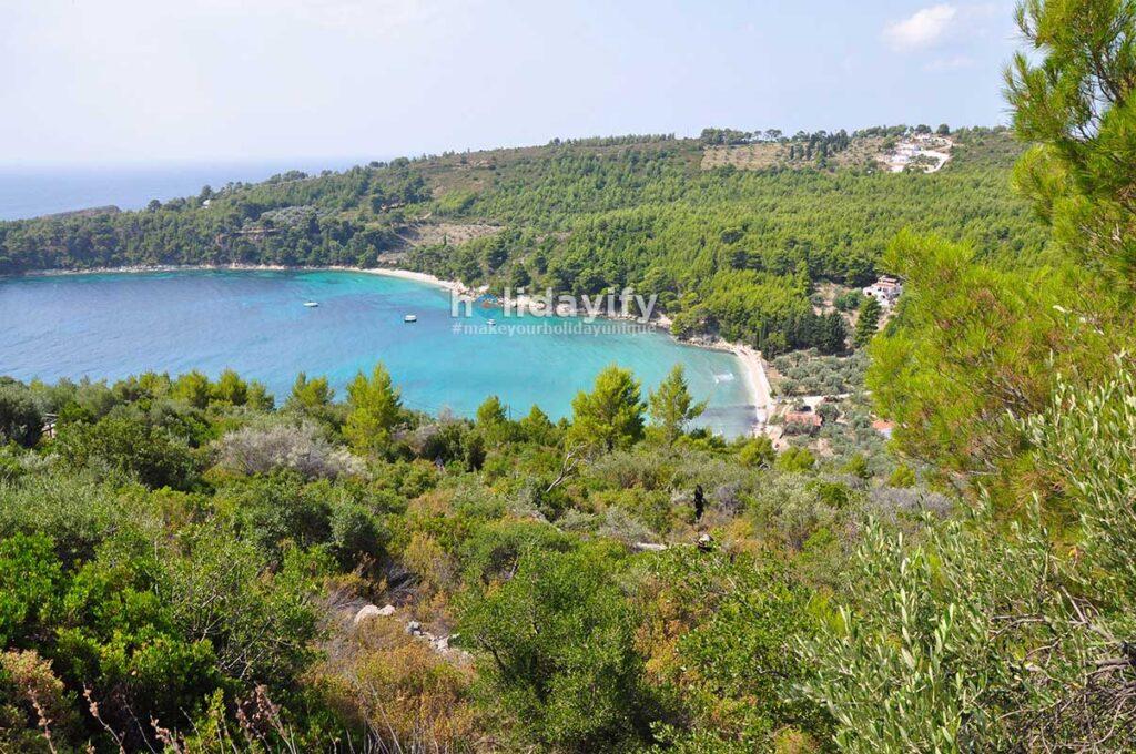 Tsortsi Gialos Beach, Alonissos Island