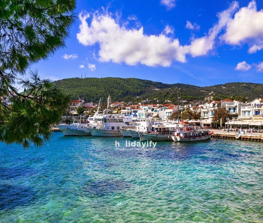 Amazing Greek island, Skiathos