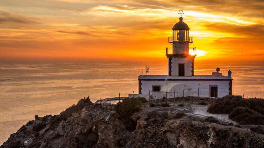 Armenistis Lighthouse, Mykonos