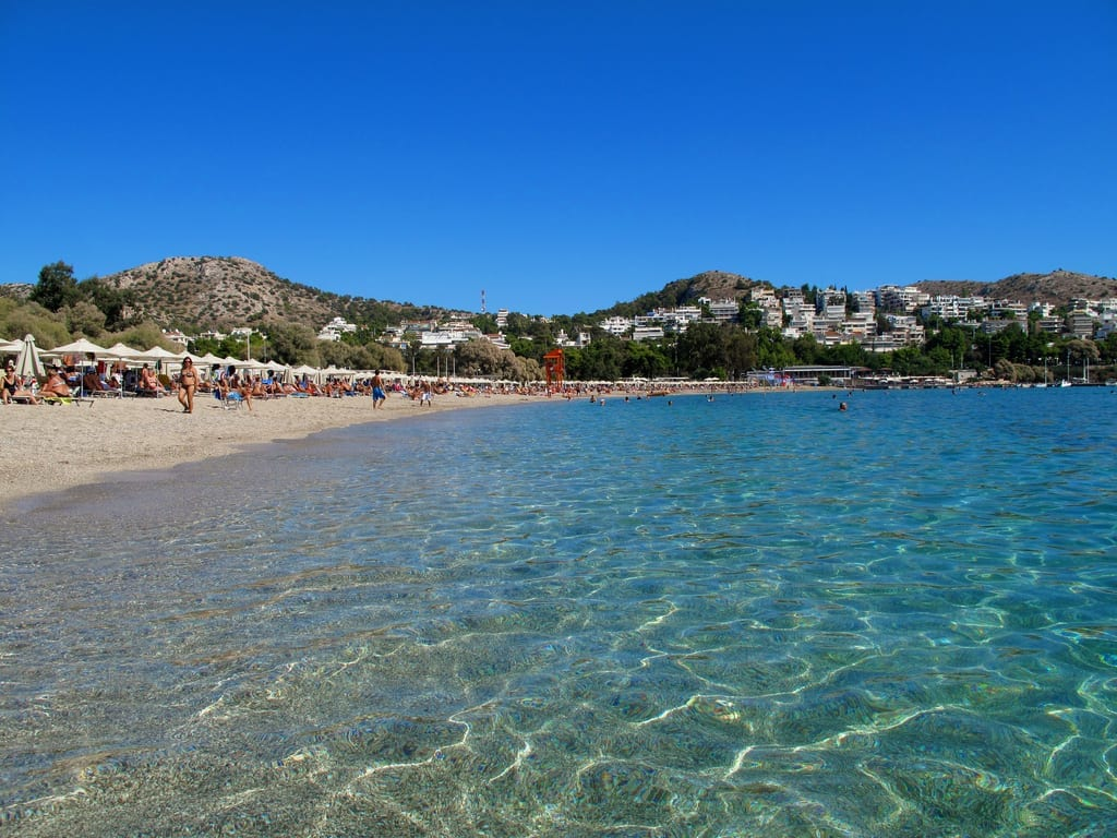 Vouliagmeni Beach, around Athens