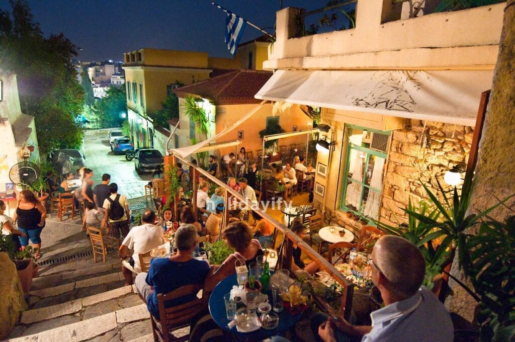 Restaurants and Bars in Athens, Greece