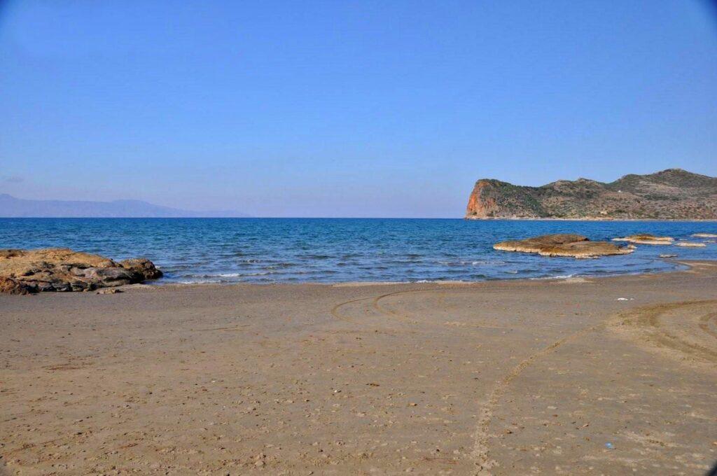 Chania Agia Marina Beach, Crete