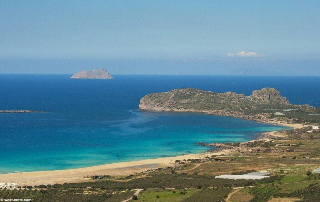 Chania Falassarna Beach, Crete, Greece