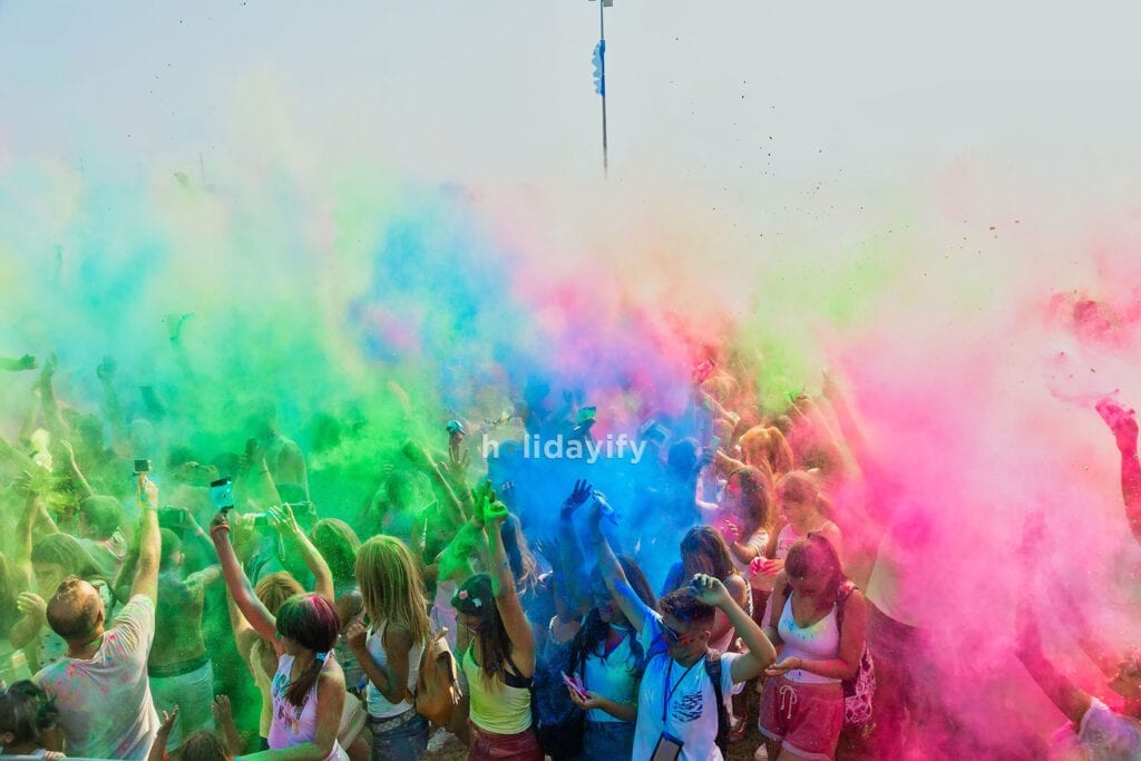 Color Day Festival celebrated at Athens