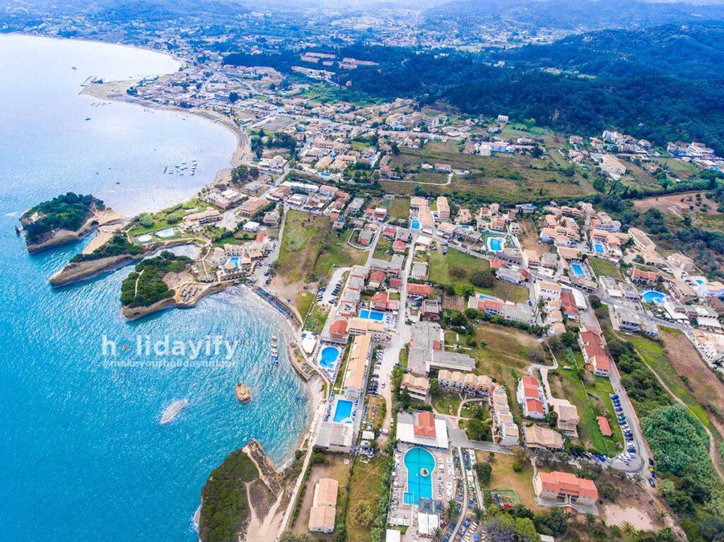Canal D Amour Beach, Sidari Village, Corfu Island