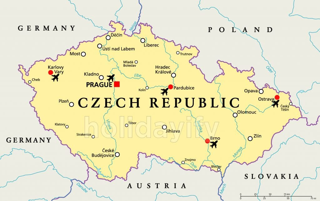 Airports of Czech Republic