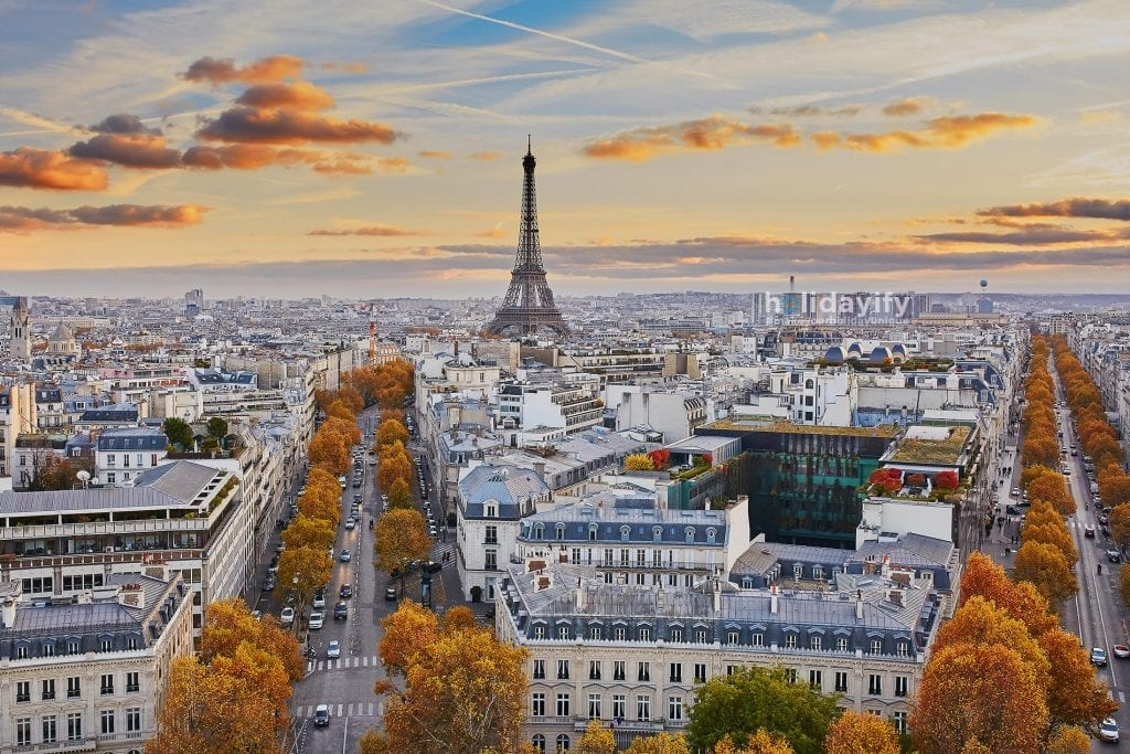Amazing view of Paris