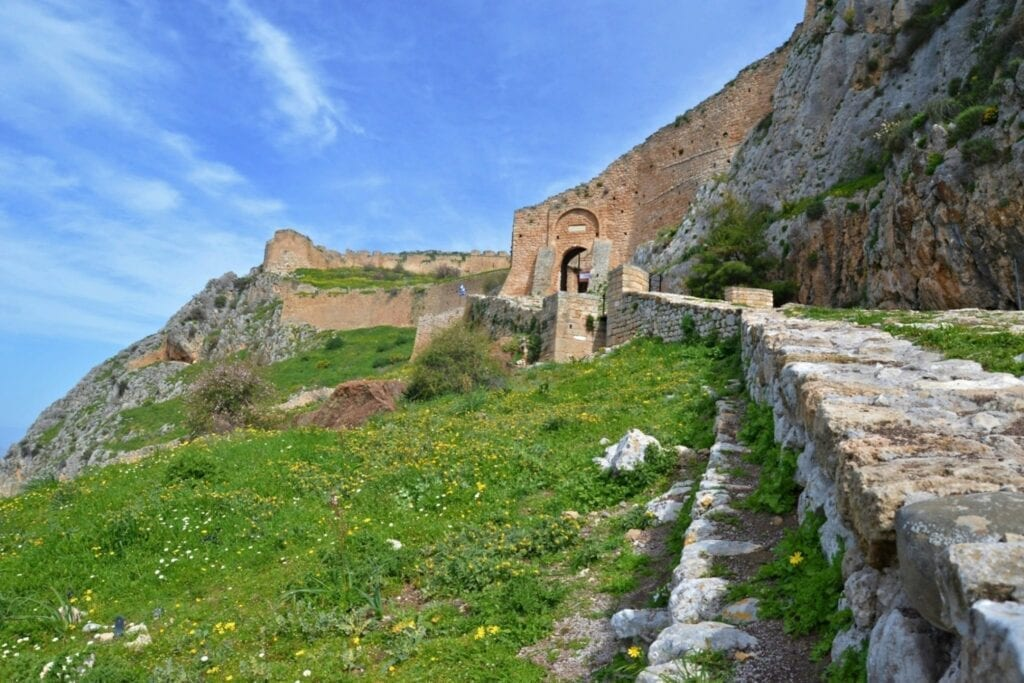 Walls of Acrocorinth, Corinth