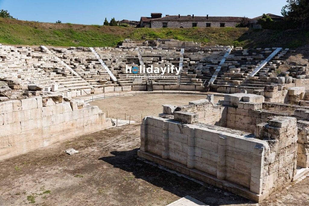 First Ancient Theatre, Larissa, Greece