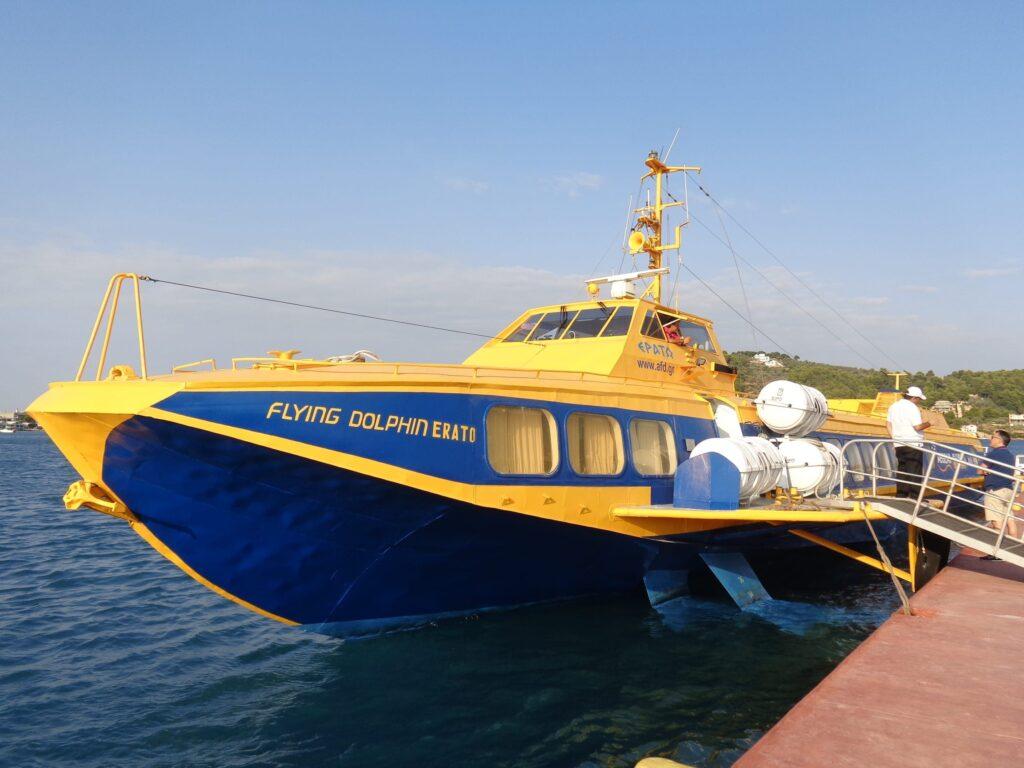 Flying Dolphin Greece