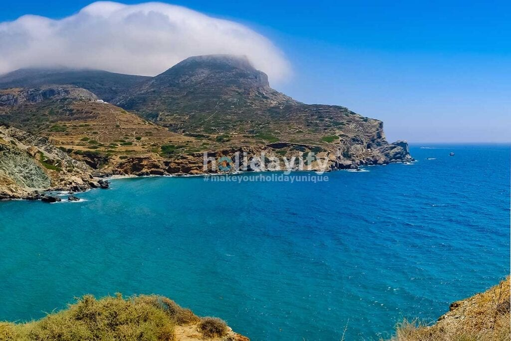 Folegandros Agali Beach