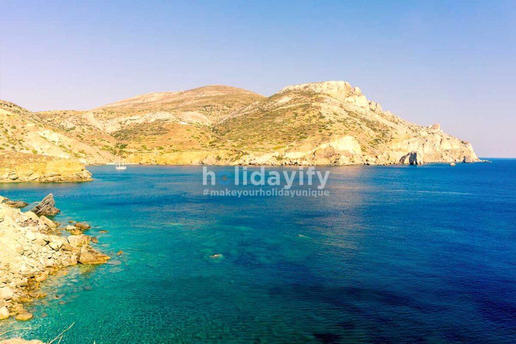 Folegandros Agali Coast