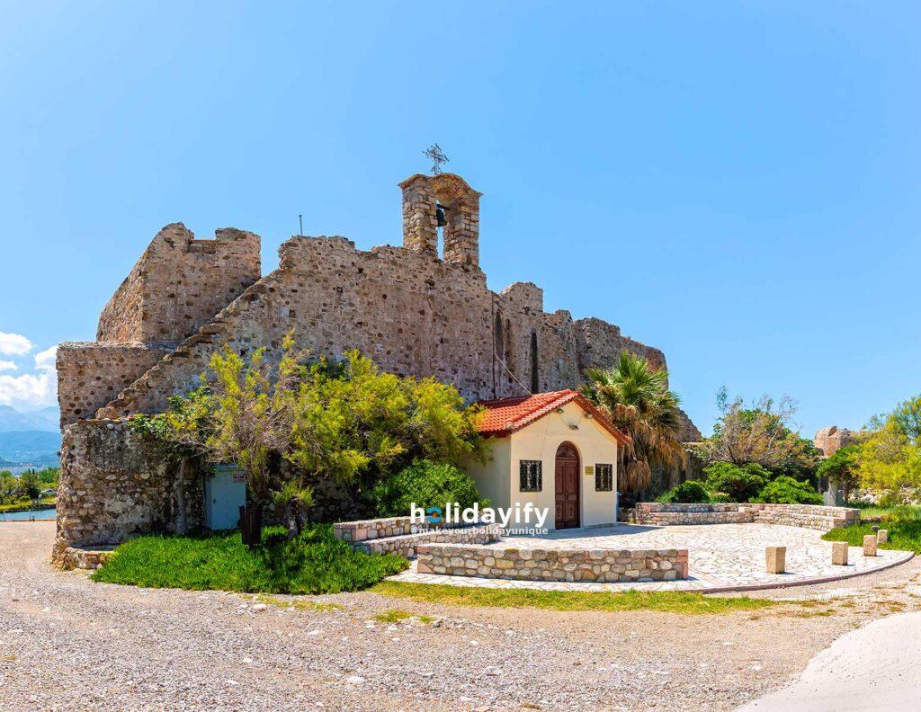 Fortress of Rio, Patra, Greece
