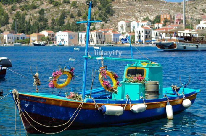 Kastellorizo in Greece