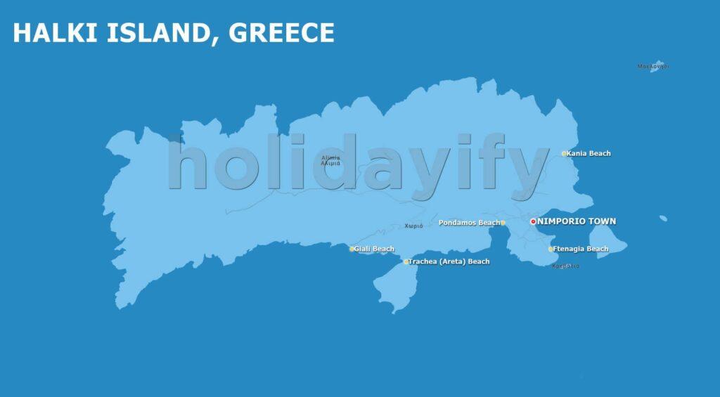 Halki Map