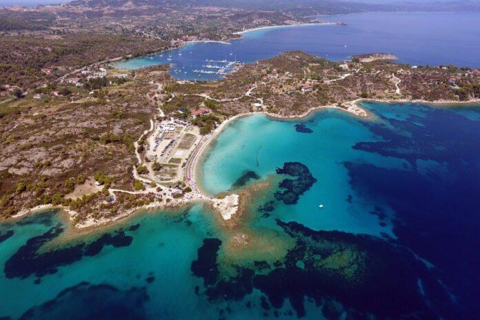 Lagonisi Plajı, Halkidiki