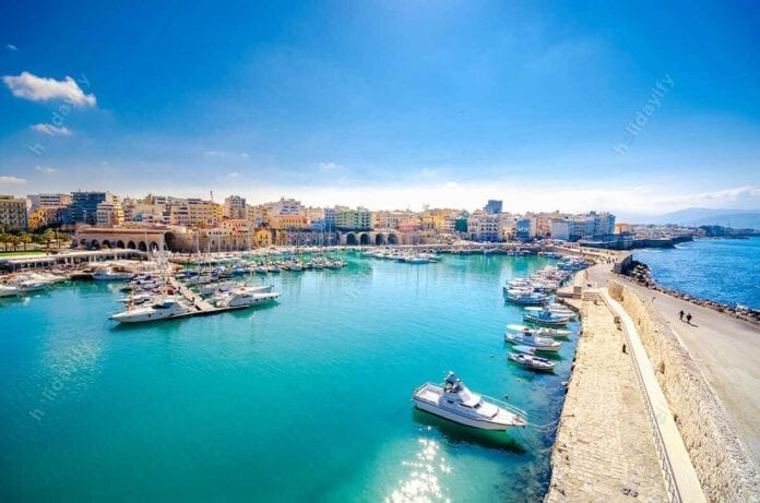 Harbour of Heraklion, Crete