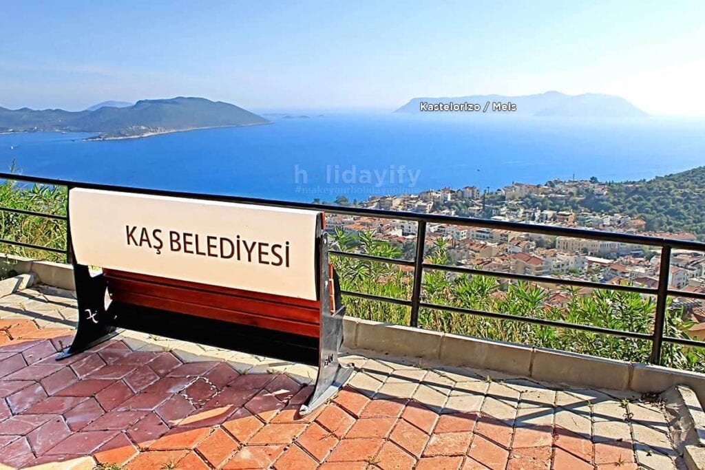 How to get Kastelorizo from Kas, Turkey
