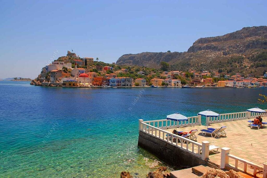 Mandraki, Beaches in Kastellorizo