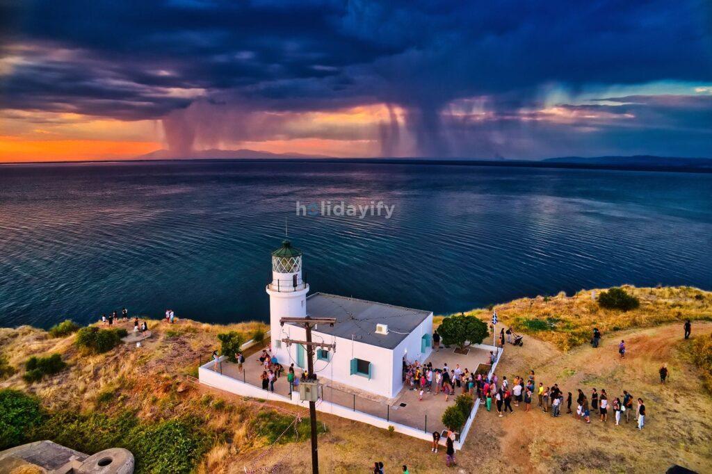 Lighthouse near Thessaloniki