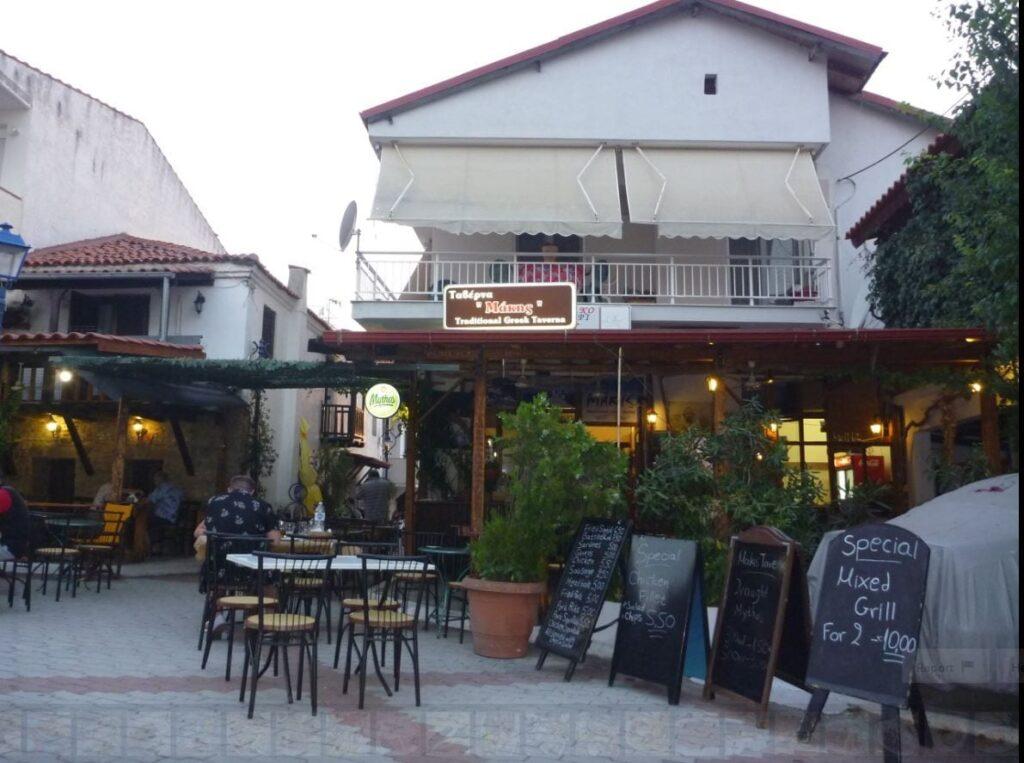 Makis Tavern in Pefkohori