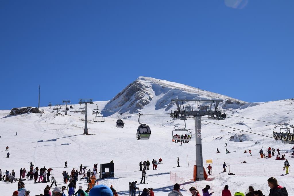 Parnassos Kayak Merkezi, Yunanistan