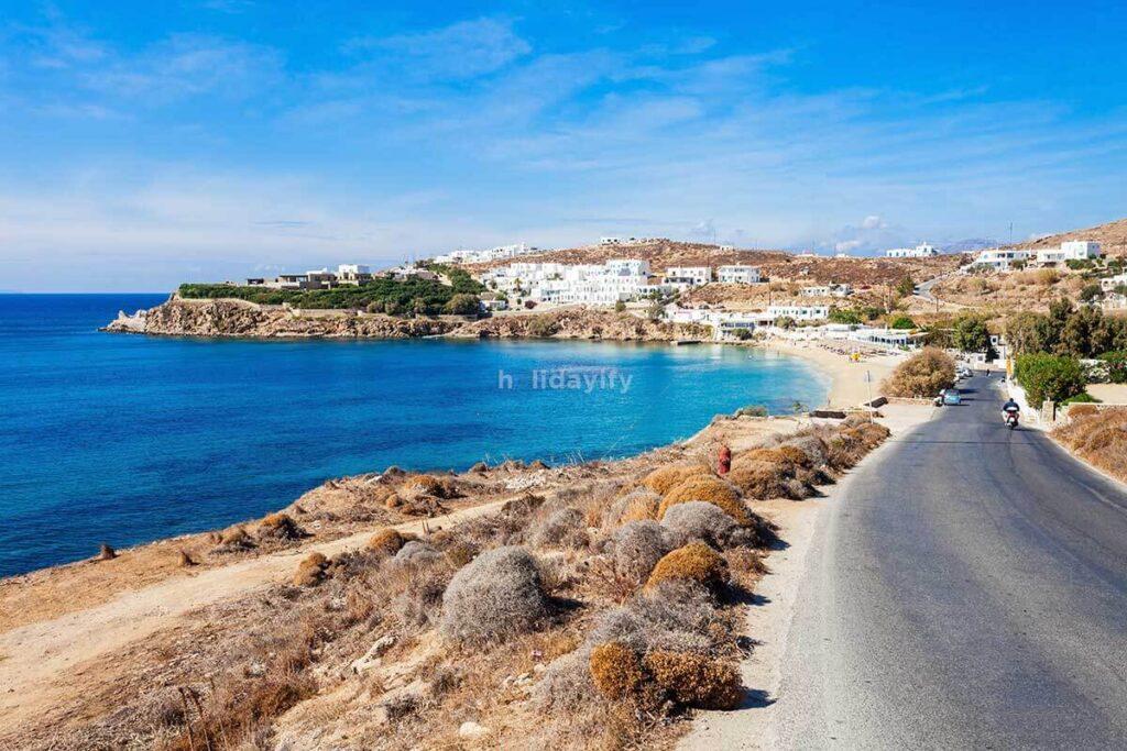 Agios Stefanos beach, Mykonos