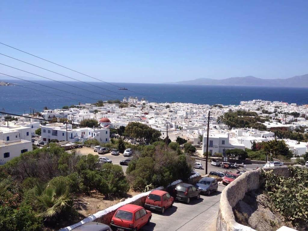 Panorama Rooms Chora – Mykonos Town