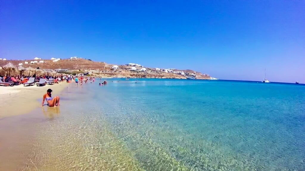 Mykonos Kalo Livadi Beach