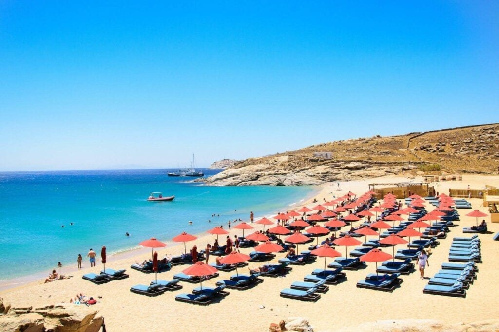 Mykonos Lia Beach
