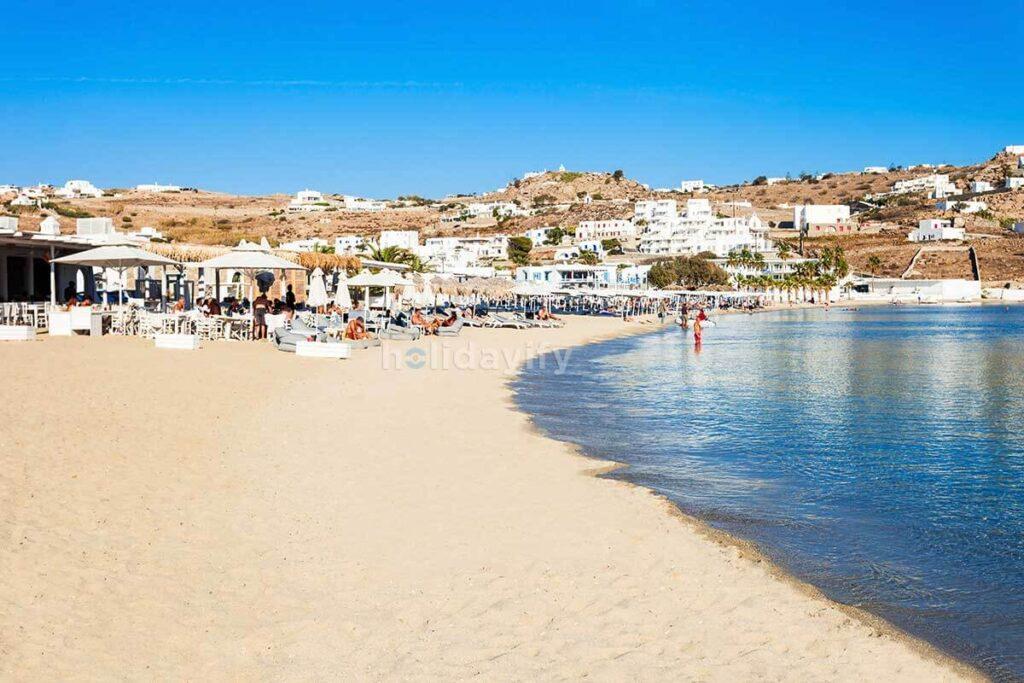 Mykonos Ornos Beach