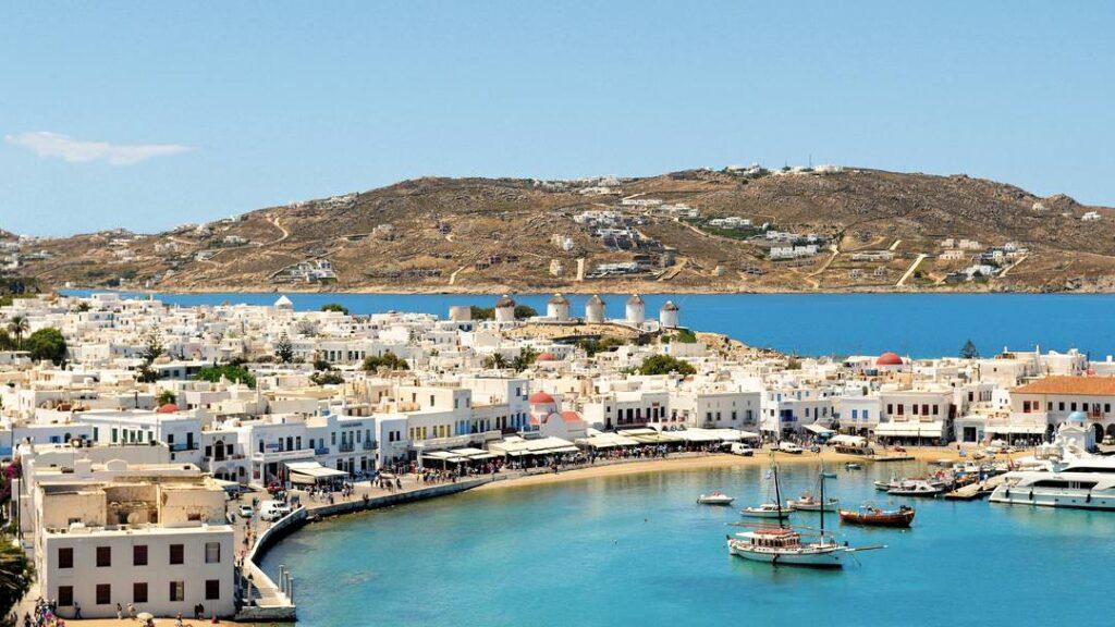 Old Port of Mykonos island