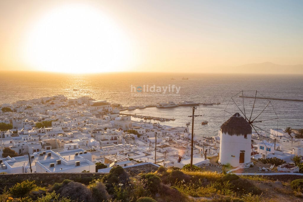 Mykonos Town - Sunset