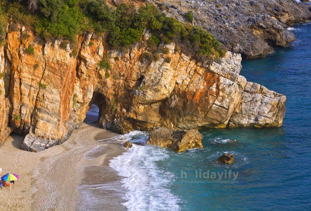 Mylopotamos beach at Tsagarada of Pelion, Greece