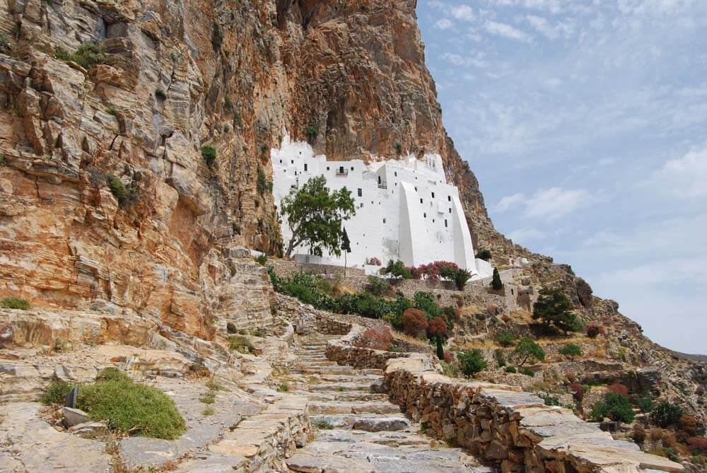 Panagia Hozoviotissa, Amorgos Adası, Yunanistan
