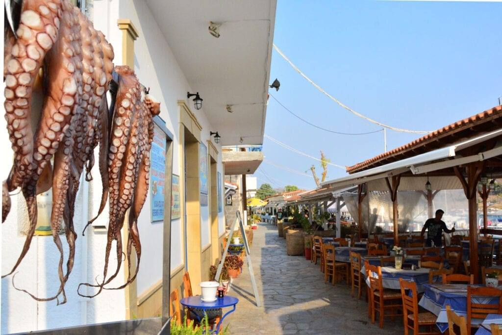 Where to eat and drink in Aegina?