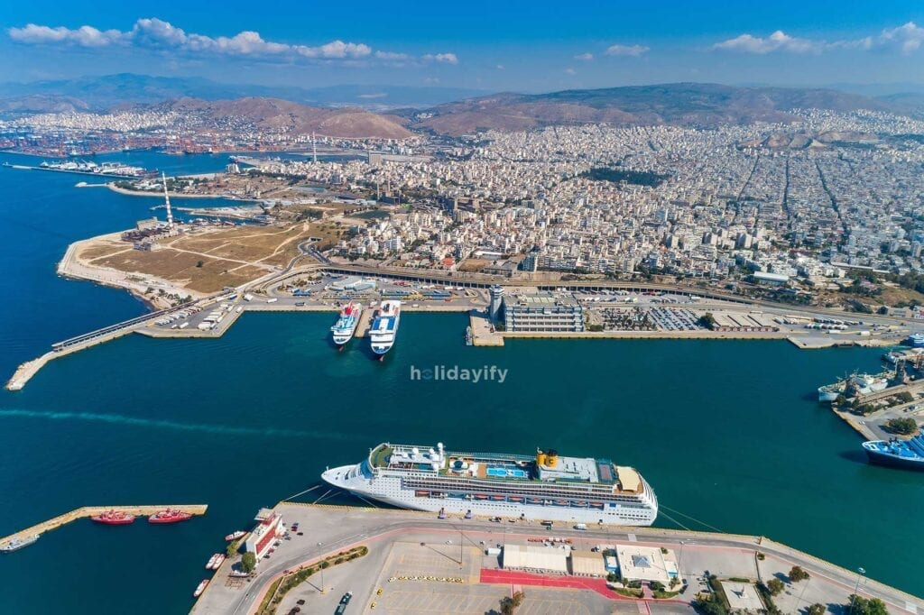 Port of Piraeus Athens Greece