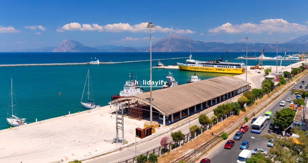 How to get to Patras by Ferry, Port of Patras, Greece