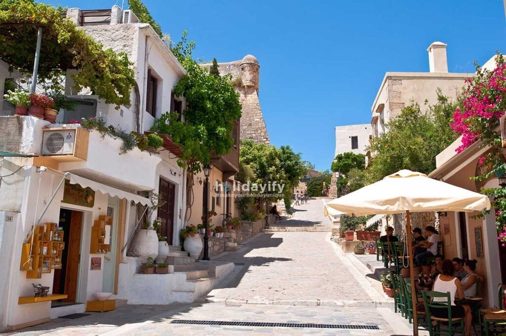 Streets of Rethymno, Crete, Greece