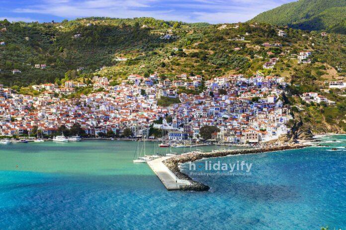 Skopelos Town, Sporades, Greece