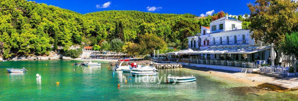 Agnontas village, Skopelos