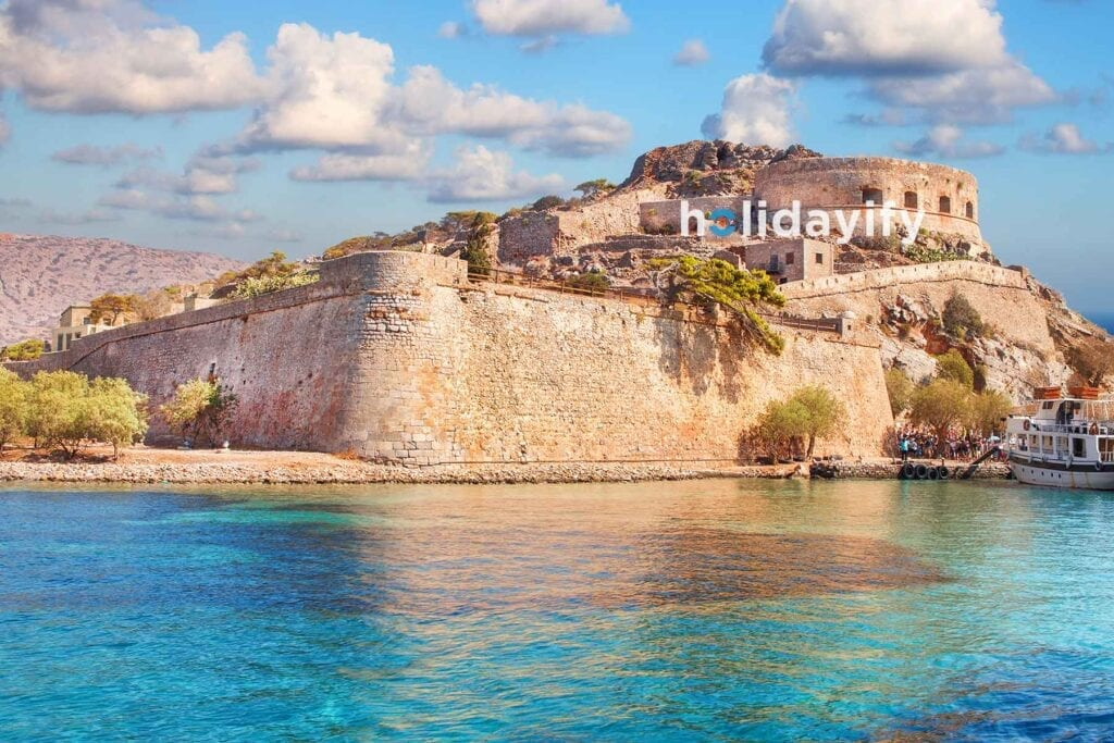 Prices for the boat trip to Spinalonga